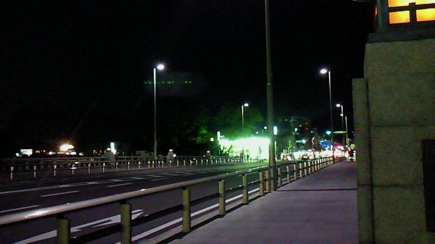 夜の北大路橋