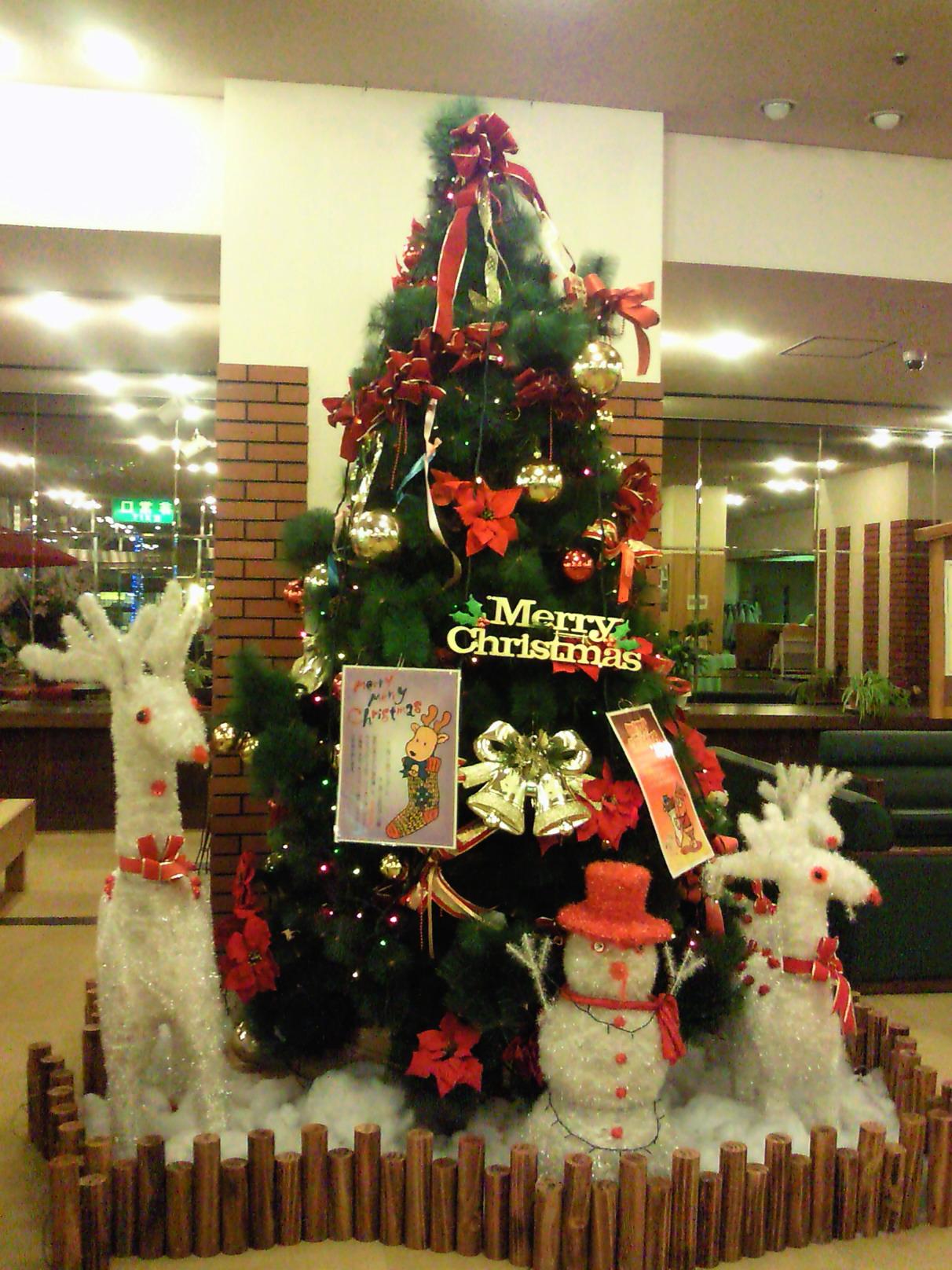 クリスマス彩る