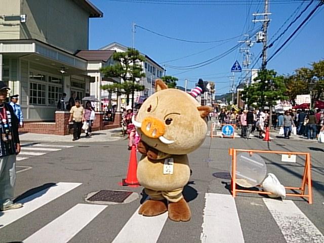 丹波篠山の黒豆&ゆるキャラ