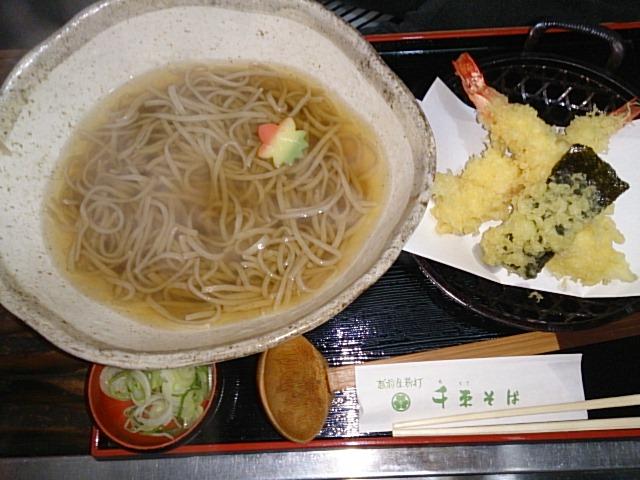 敦賀で蕎麦(<br />  ⌒‐⌒)